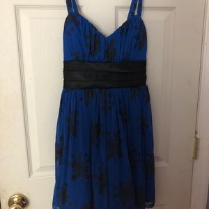 BLUE DRESS ONLY WORE ONCE
